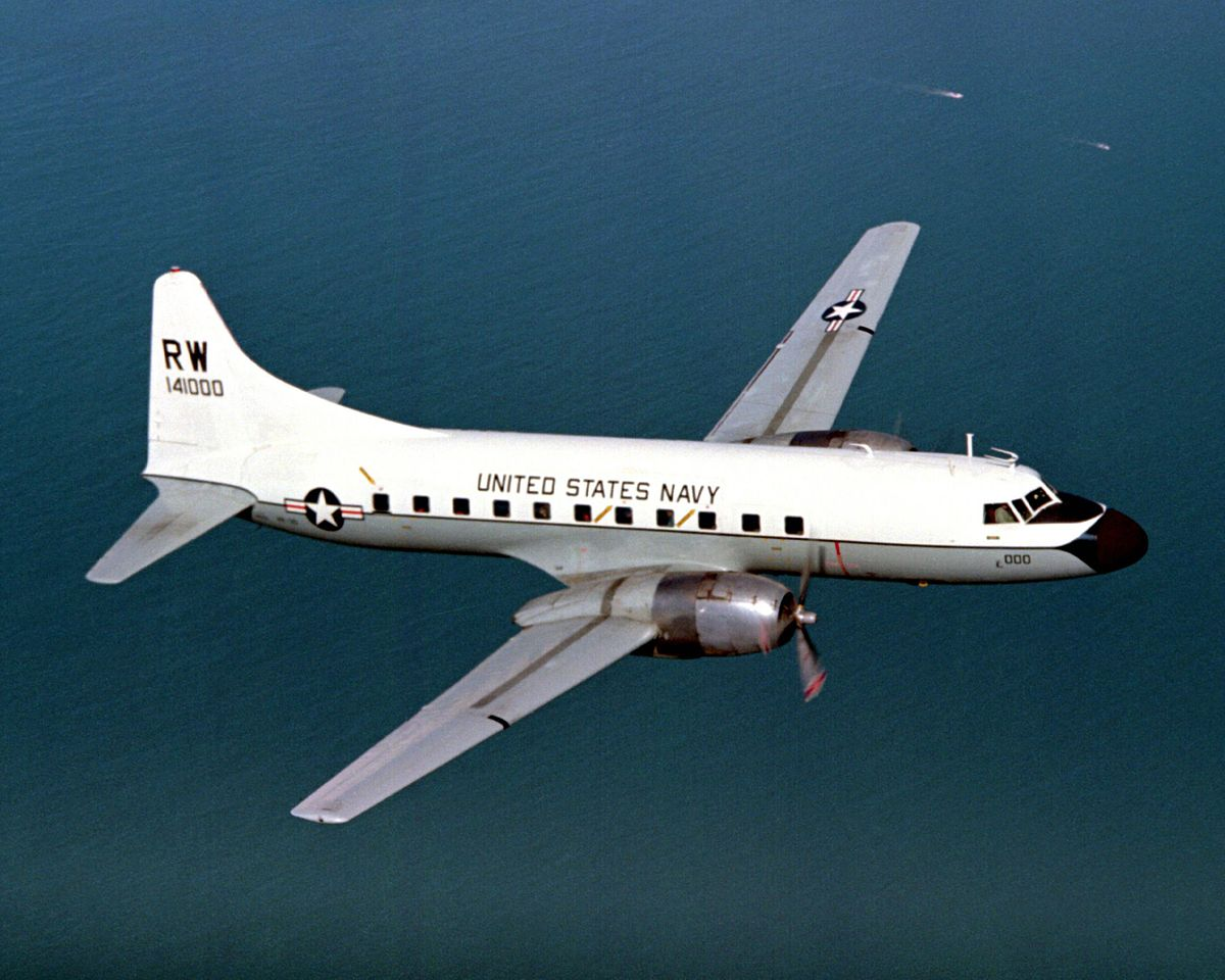 Convair C-131 Samaritan - Wikipedia