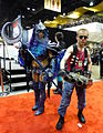 C2E2 2015 - Nightmare Moon & Duke Nukem (16684283614).jpg