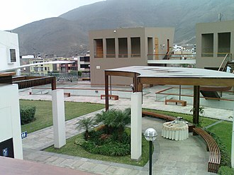 Pontifical Catholic University of Peru - Image: CENTRUM (Centro de Negocios PUCP)