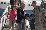 CJCS arrives at Travis Air Force Base for Refuel (36326527212).jpg