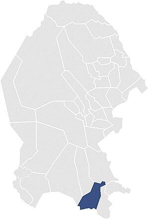 Seventh Federal Electoral District of Coahuila - District Coah-VII