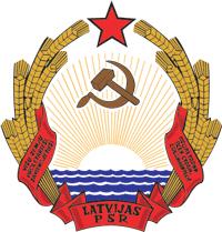 Резултат с изображение за Латвийска съветска социалистическа република.