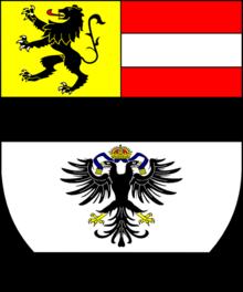 Wappen Erzbischof Hieronymus von Colloredo (Quelle: Wikimedia)
