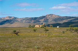 County of Blachford - Abandoned homestead north of Hawker on the western edge of the Flinders Ranges