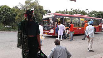 Dera Bassi - CTU AC bus plying till Derabassi