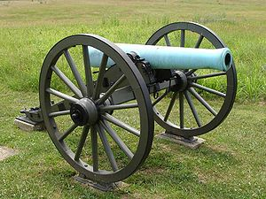 "French weapons in the American Civil War - An American M1857 12-Pounder ""Napoleon"""