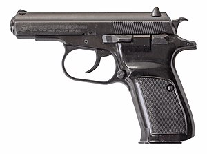 National Socialist Underground murders - A handgun CZ 83 caliber 7.65 mm as used for the murders
