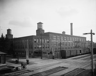 New Amsterdam Historic District - Cadillac Plant, c. 1910