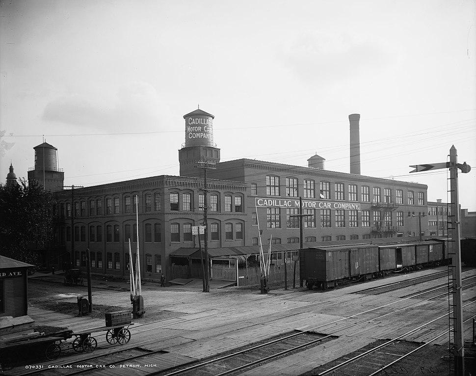 Cadillac Assembly Plant Amsterdam Street historic - Detroit Michigan