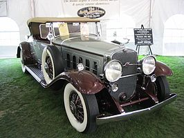 1930 Cadillac Series 452A roadster