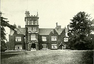 Athlone House - Caen Wood Towers (east view) circa 1900.