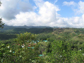 Melgar, Tolima - View of Melgar from Cafam Resort