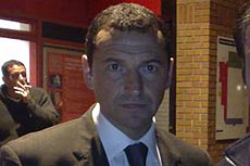File photo of former Hibernian F.C. manager Colin Calderwood from 2007. Image: Jonesy702.