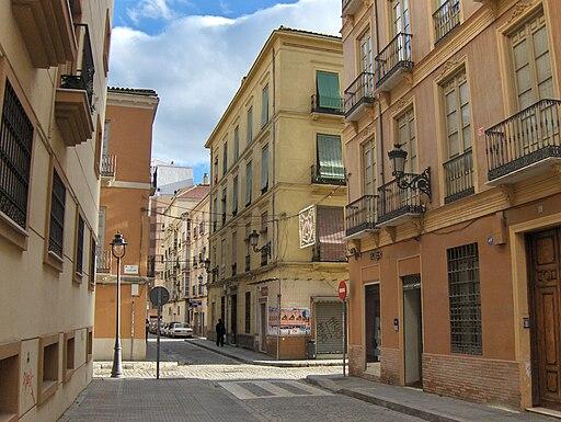 Calle Montalbán Málaga
