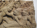 Cambogia, architrave con storie di rama, lakasmana, sugriva e valin, da vat baset, stile di baphuon, xi sec. 11.JPG
