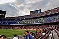 Camp Nou during La Liga match- FC Barcelona(2) - Athletic Bilbao(0) 10.jpg