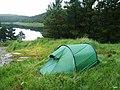 Camping at Loch an Iasaich - geograph.org.uk - 319043.jpg