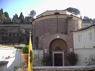San Teodoro, Rome - Entrance to the church.
