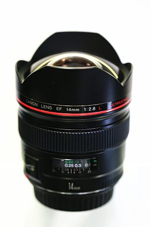 Canon EF 14mm lens - Image: Canon 14mm MG 2029