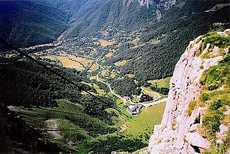 Camaleño - Fuente Dé, in the Picos de Europa.