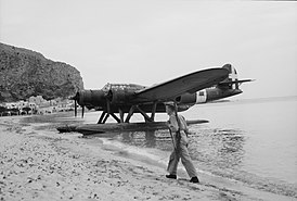 Cant Z506 on Sicily beach side 1943.jpg