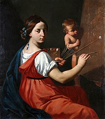 Allegory of painting.