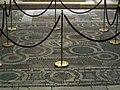 Cappella minutolo, pavimento con mosaico ad animali del 1290 ca. 01.JPG