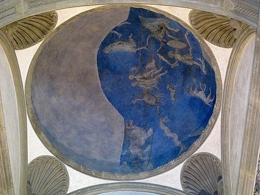 Cappella Pazzi, cupoletta della scarsella, Basilica di Santa Croce
