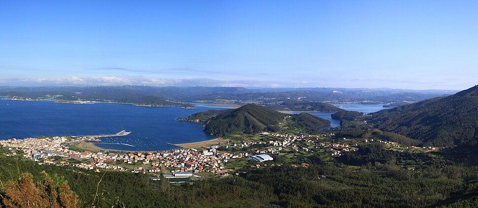 Cariño, Ortegal, ría de Ortigueira, Galiza