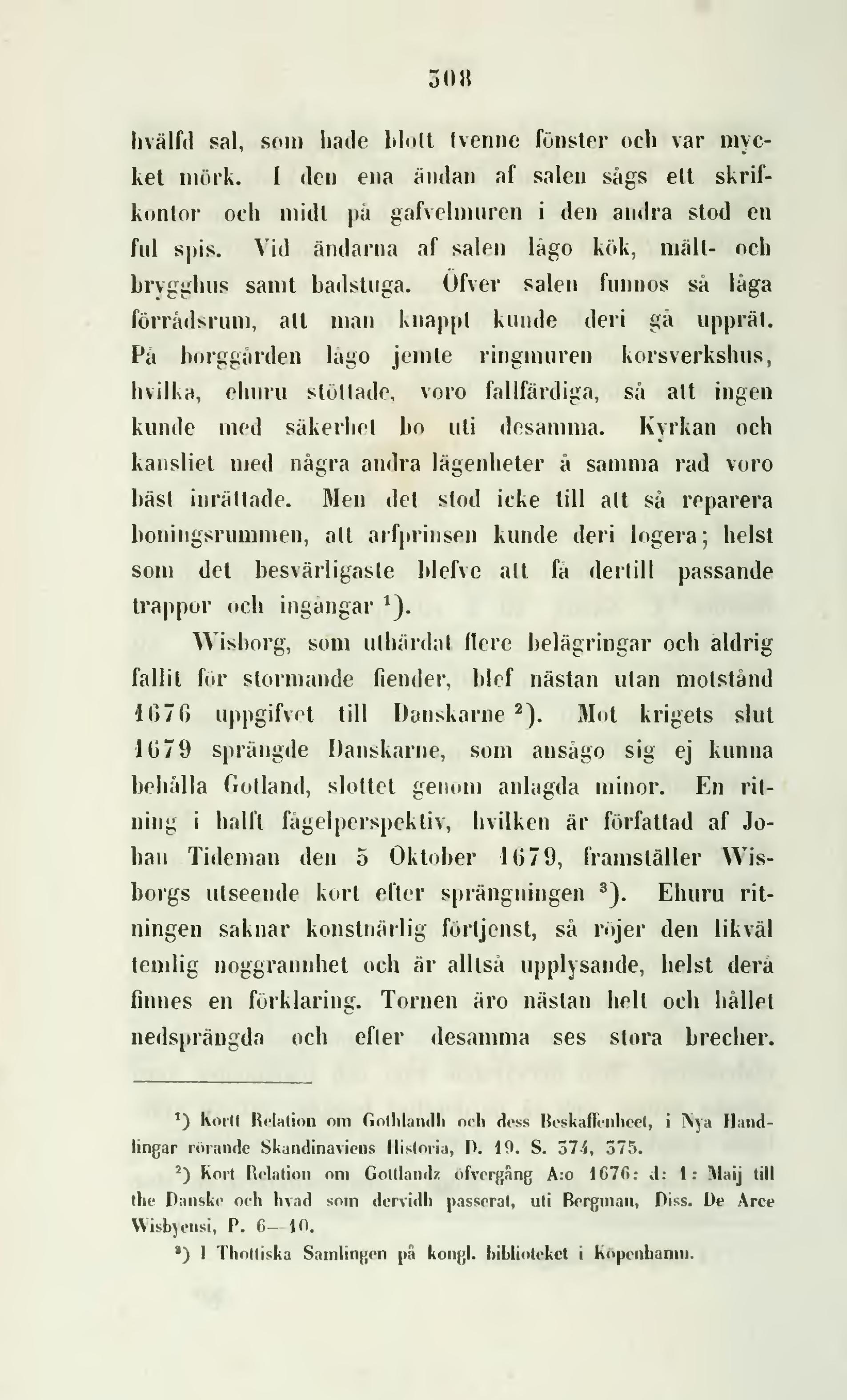 Sida Carl Georg Brunius Gotlands Konsthistoria 1864 1866 Djvu