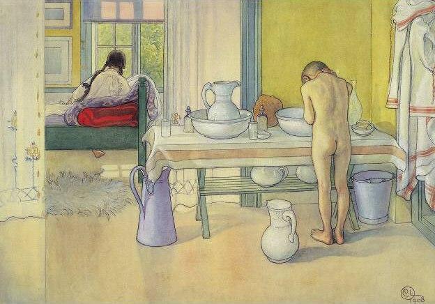 Carl Larsson Summer Morning 1908