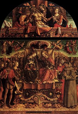 Carlo Crivelli - Coronation of the Virgin - WGA5782