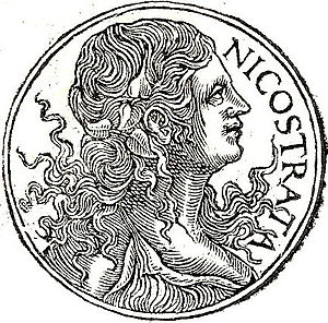 In Roman mythology, Carmenta was the goddess o...