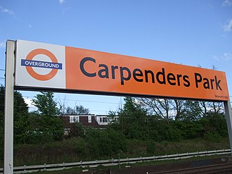 South Oxhey - Carpenders Park station