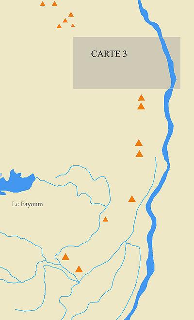 carte des pyramides