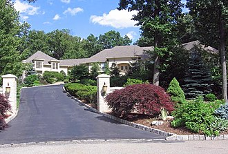 North Caldwell, New Jersey - In The Sopranos, Tony Soprano and his family resided in this North Caldwell house