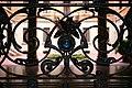 Casa Valli, via Bernardino Zenale, 13, Milano, dettaglio del cancello.jpg