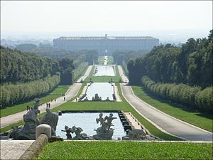 Royal Palace of Caserta - Image: Caserta Northern Aspect