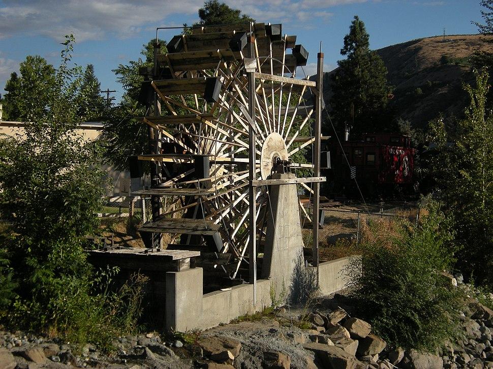 Cashmere, WA - Burbank Homestead Waterwheel