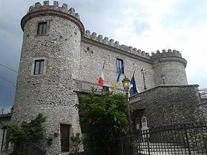Oricola - Image: Castello medievale di Oricola