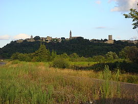 View of Castillon-du-Gard