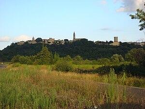 Castillon-du-Gard - A general view of Castillon-du-Gard
