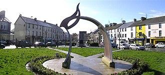 Castlederg - Image: Castlederg Town Centre geograph.org.uk 371674