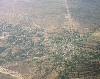 Andalgalá - Aerial view