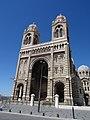 Cathédrale Sainte-Marie-Majeure de Marseille. Le portail..JPG