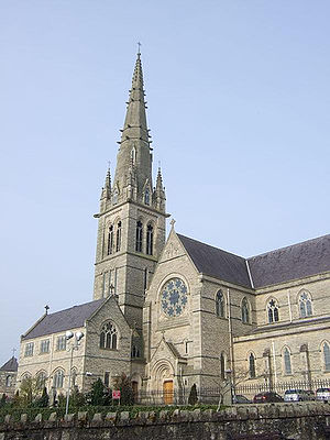 Roman Catholic Diocese of Raphoe - The Cathedral of Saints Eunan and Colmcille, Letterkenny, the episcopal seat of the bishops of Raphoe