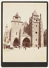 Photographie de la façade occidentale de la cathédrale de Saint-Brieuc