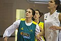 Cayla Francis, Marianna Tolo and Jenna O'Hea at day three of the Opals camp.jpg