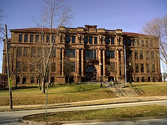 College Square Historic District - Central High School