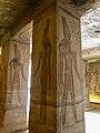 Central Hall, Temple of Hathor and Nefertari, Abu Simbel, AG, EGY (48016746762).jpg